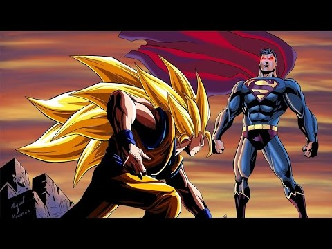 Video: Goku Vs. Superman - Who Wins??