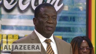 Zimbabwe's Mnangagwa calls for an end to sanctions - ALJAZEERAENGLISH