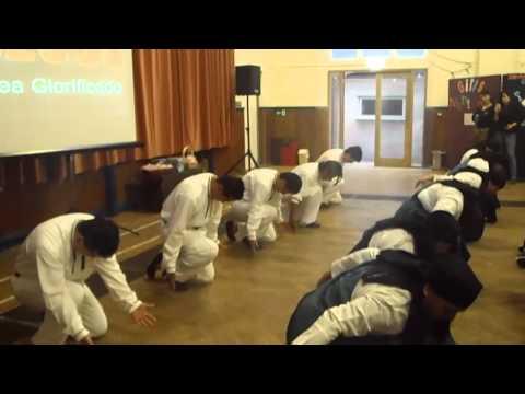 DANZA CRISTIANA C.E.L  GRUPO MARANATHA JESUS ES MI CAMINO