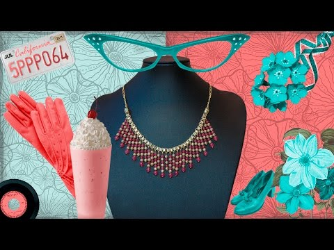 Manualidades bisuteria DIY   collar VI   collar egipcio jade rosa