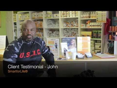 SmartforLife® Cookie Diet Weight Loss Testimonial John
