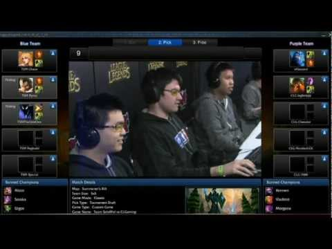 League of Legends: MLG Anaheim 2012 Top 10 plays