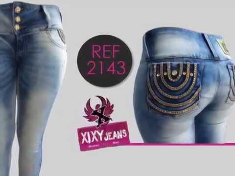 Jeans colombianos - Levanta cola - Colección mujer 2014