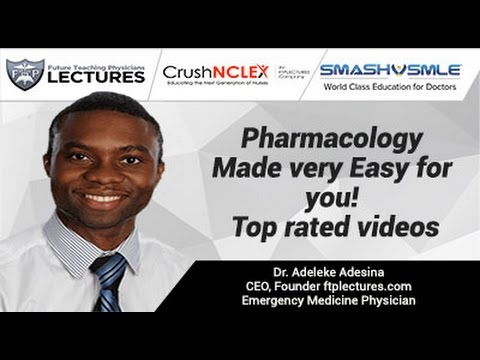 Pharmacology Made very Easy for you! Top rated videos