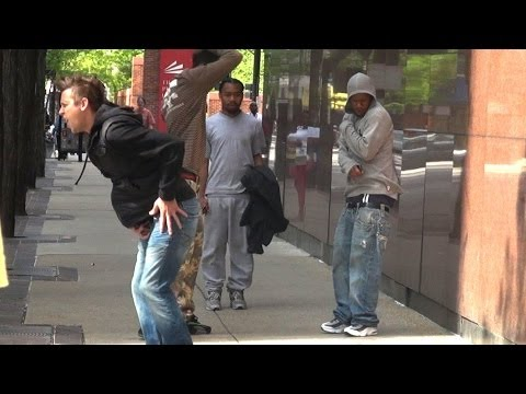 Explosive Farts In The Hood! PRANK!