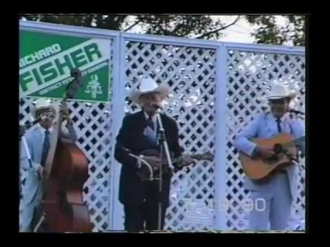 Bill Monroe and His Blue Grass Boys - Etowah, TN - July 19, 1990