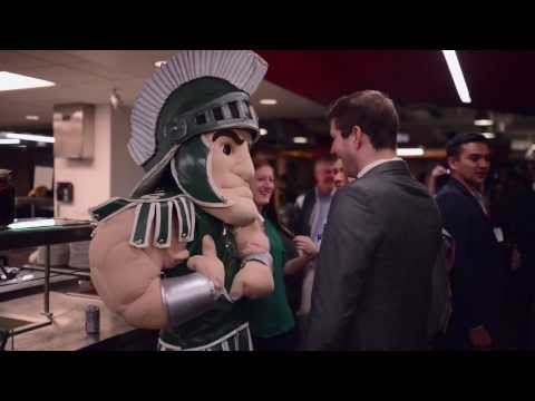 Sparty Visits Google San Francisco