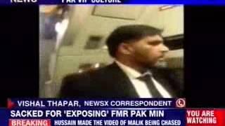 Man who forced Pakistan VIP off plane sacked - NEWSXLIVE