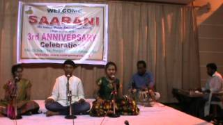 Saarani Music Educational trust 3rd Annual celebrations