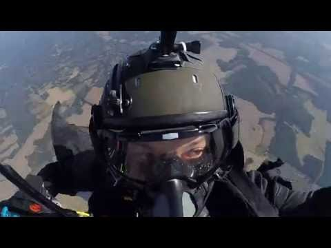 HALO Wingsuit 30,000 Feet Oct 12, 2015