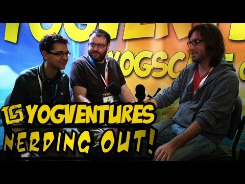 Nerding Out! at E3 2012 Yogventures w/ Davis - TGS