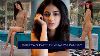 'Student of The Year 2' star Ananya Panday's unknown secrets & facts - ZOOMDEKHO