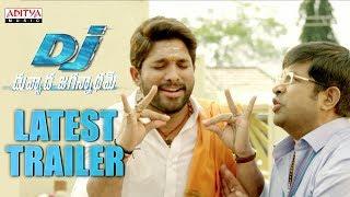 DJ - Duvvada Jagannadham Latest Trailer || AlluArjun, Pooja Hegde, Harish Shankar, DSP - ADITYAMUSIC