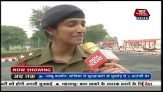 सेना की पहली महिला डेयरडेविल कैप्टन गणतंत्र दिवस पर करेंगी परेड | विशेष - AAJTAKTV
