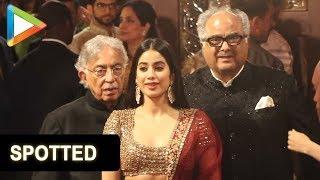 Jhanvi Kapoor sizzles at Isha Ambani- Anand Piramal's grand Wedding Celebrations - HUNGAMA