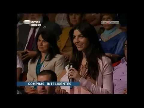 Catarina Vilela no programa 'Prós e Contras' - 'o orgasmo tralheiro'
