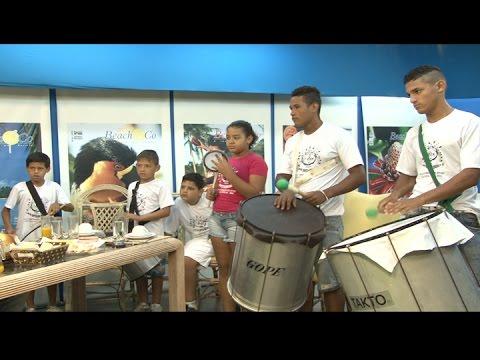 TV Costa Norte - Trabalho social da Percus Sou é tema do programa Café da Manhã