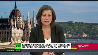 German paper alleges Russian hackers promoted AfD on Twitter - RUSSIATODAY