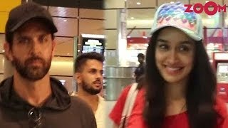 Hrithik Roshan's Cool Casual Look | Shraddha Kapoor's Chic Comfy Look | Style Today - ZOOMDEKHO