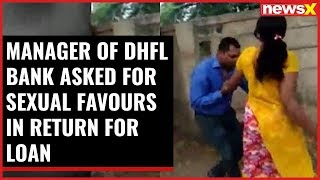 Manager of DHLF bank thrashed by a woman; asked for sexual favours in return for loan - NEWSXLIVE