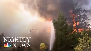 At Least 41 People Dead In California Wildfires | NBC Nightly News - NBCNEWS
