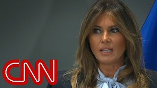 Melania Trump addresses cyberbullying summit - CNN