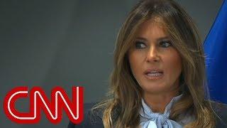 Melania Trump addresses cyberbullying summit - CNN