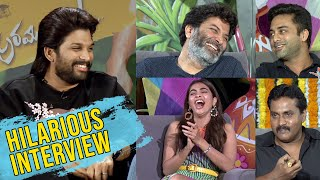 Ala Vaikunthapurramuloo Interview | AlaVaikunthapurramuloo Team Sankranthi Special Interview - TFPC
