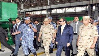 الرئيس السيسى يشهد مراسم إفتتاح ترسانة الاسكندرية بعد تطويرها