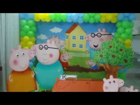 Decoração Infantil Peppa Pig Curitiba