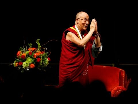 Eugene welcomes the Dalai Lama