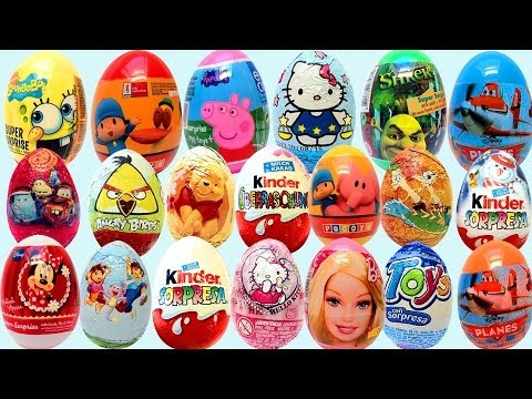 Kinder Surprise Eggs Mickey Mouse Play Doh Surprise Egg Huevo kinder Sorpresa