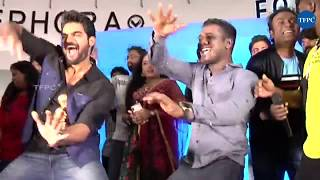 Actor Karthikeya And Rahul Sipligunj Dance Performance At 90ML Song Launch - TFPC