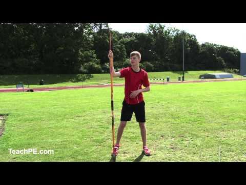 Javelin Throw - warm up drills