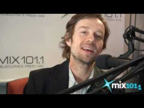 Darren Hayes on Mix 101.1 Melbourne Radio