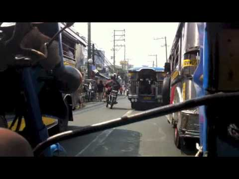 Tricycle ride through Manila