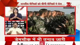 300 Chinese soldiers surround 100 Indian troops in Ladakh - ZEENEWS