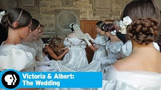 Queen Victoria's Dress | Victoria & Albert: The Wedding | Episode 1 | PBS - PBS