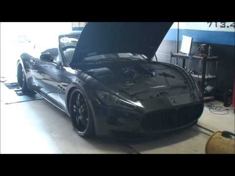 LMR Exhaust and Tune Maserati GT