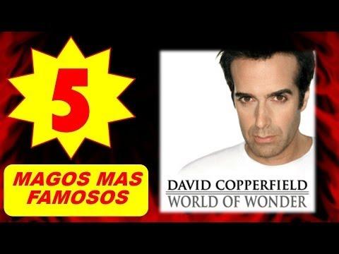 Los 5 Magos mas Famosos del Mundo
