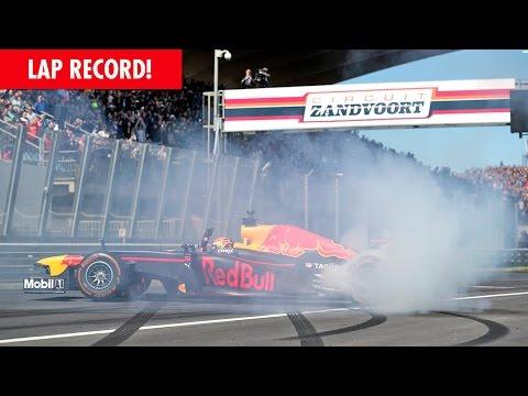 Видео: Рекордный круг Макса Ферстаппена в Зандворте