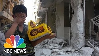 Aleppo Boy Who Lost Dad, Siblings: 'The Whole World Is Broken' | NBC News - NBCNEWS
