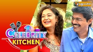 Actors Charmila & Subbu Arunachalam in Celebrity Kitchen 26-07-2015 – PuthuYugam TV Show