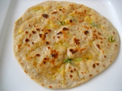 Aloo Paratha - Potato stuffed flat bread