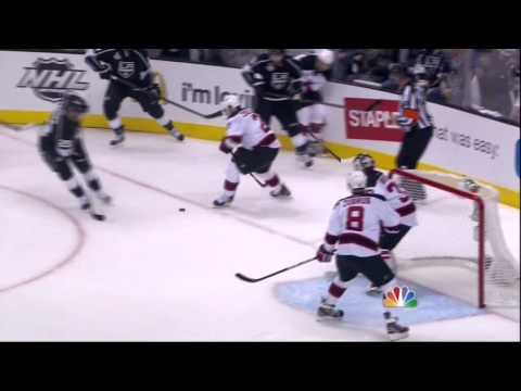 Jeff Carter  goal. New Jersey Devils vs LA Kings Stanley Cup Game 6 6/11/12 NHL Hockey