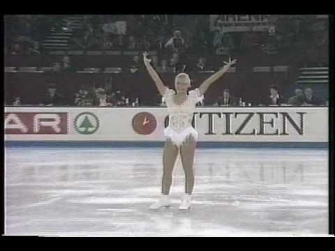 Nicole Bobek (USA) - 1995 World Figure Skating Championships, Ladies' Short Program
