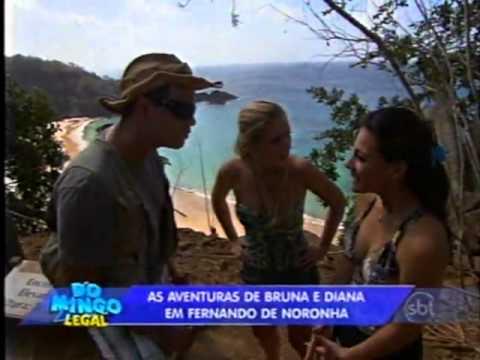 Domingo Legal - Bruna e Diana em Fernando de Noronha