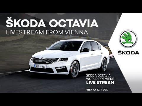 Autoperiskop.cz  – Výjimečný pohled na auta - Světová premiéra vozů ŠKODA OCTAVIA a ŠKODA OCTAVIA RS dnes 10.ledna od 18,30hodin živě na internetu