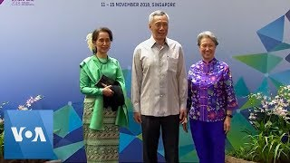 ASEAN Leaders Meet for Dinner at Annual Summit - VOAVIDEO