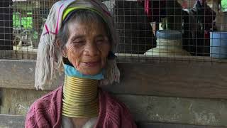 Young Women in Myanmar Shunning Traditional Neck Rings - VOAVIDEO